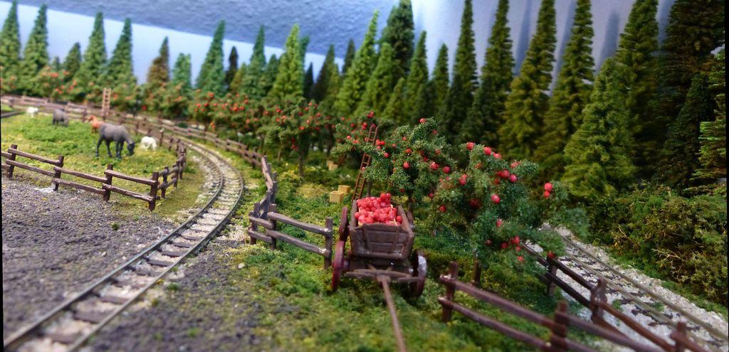 Busch Apfelernte H0 6620