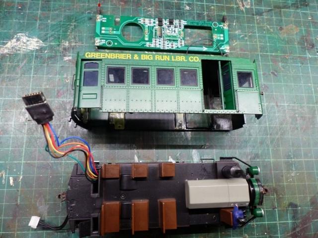 Railbus Demontage