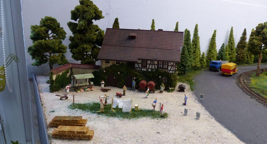Kleiner privater Bauernhofmarkt