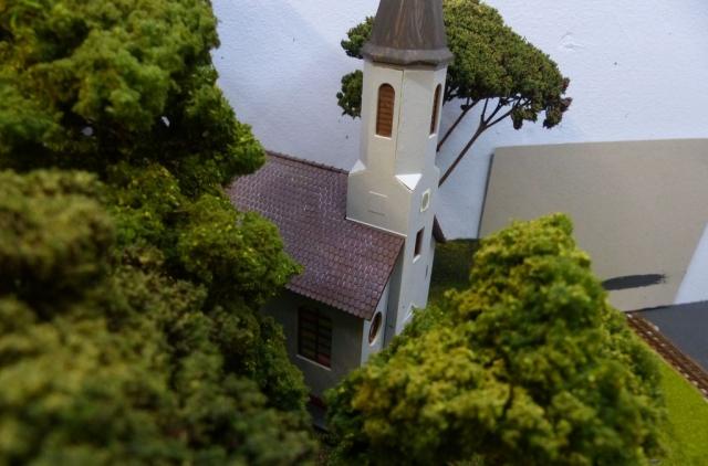 Geplante Kirche