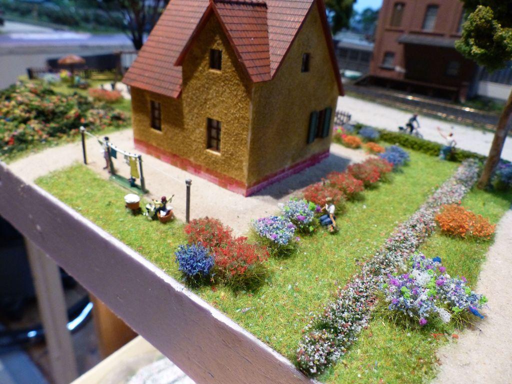 Garten in der Siedlung