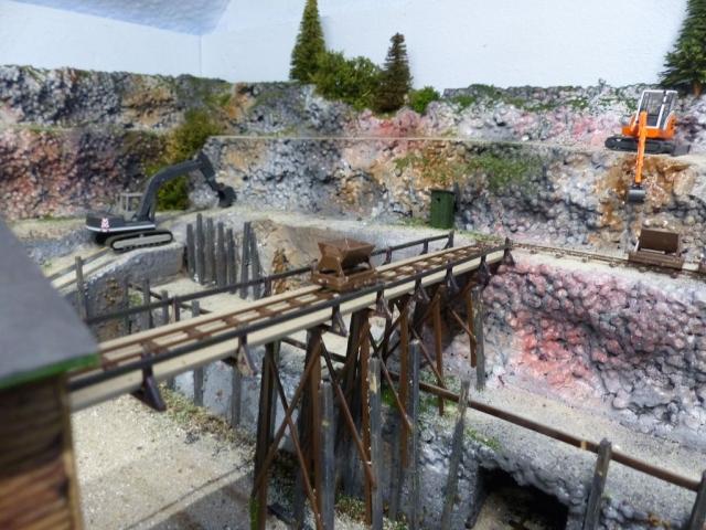 Steinbruch, noch in Bearbeitung