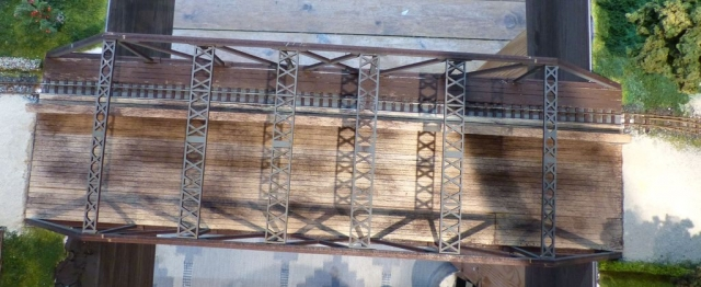 Brücke als Durchgang