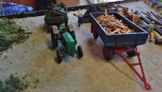 Holzbearbeitung für die Bauern