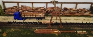 Holzverladung