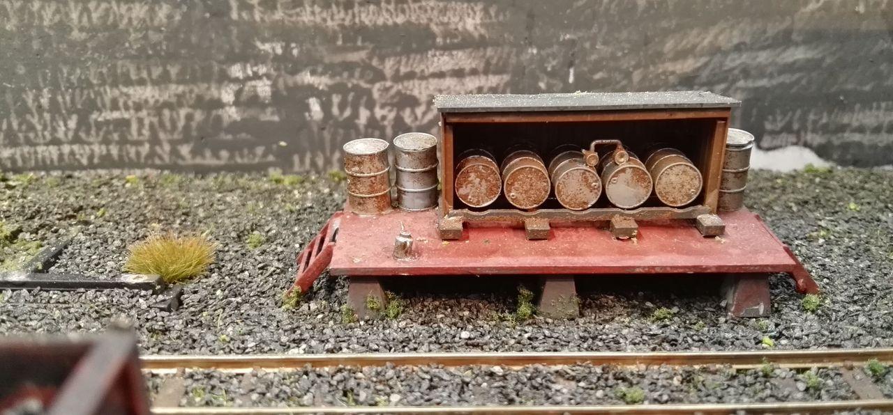 Kleine Dieseltankstelle
