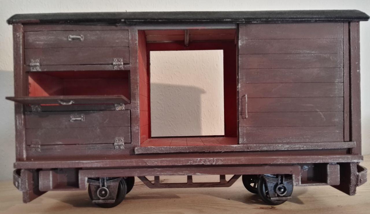Transport/Werkstattwagen in 1:13,3