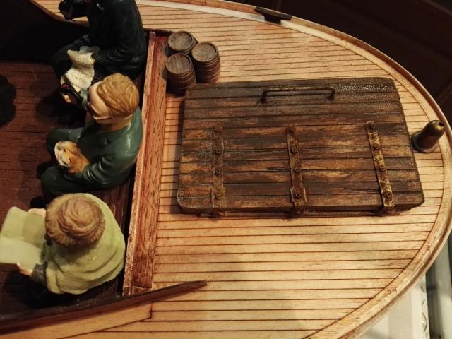 Schiff im Maßstab 1:12 passend zur Halligbahn